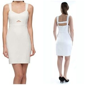 Guess Sweetheart  Cut Out Bodycon Dress